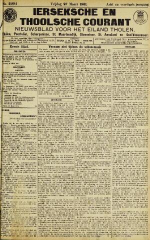 Ierseksche en Thoolsche Courant 1931-03-27