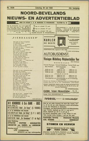 Noord-Bevelands Nieuws- en advertentieblad 1938-07-30