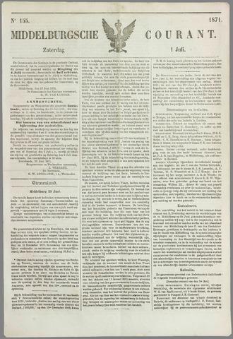 Middelburgsche Courant 1871-07-01