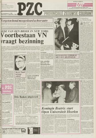 Provinciale Zeeuwse Courant 1984-09-27