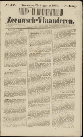 Ter Neuzensche Courant. Algemeen Nieuws- en Advertentieblad voor Zeeuwsch-Vlaanderen / Neuzensche Courant ... (idem) / (Algemeen) nieuws en advertentieblad voor Zeeuwsch-Vlaanderen 1860-08-29