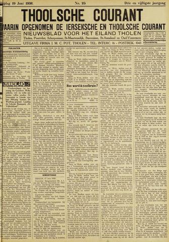 Ierseksche en Thoolsche Courant 1936-06-19