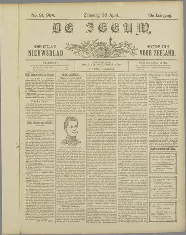 De Zeeuw. Christelijk-historisch nieuwsblad voor Zeeland 1904-04-30