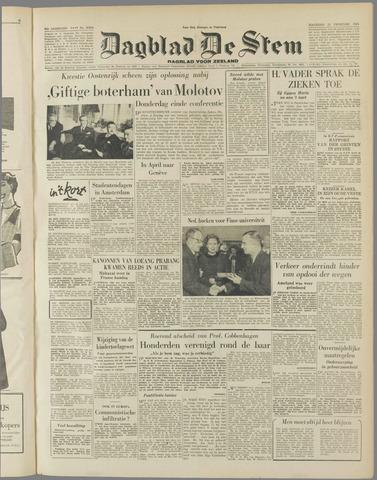 de Stem 1954-02-15