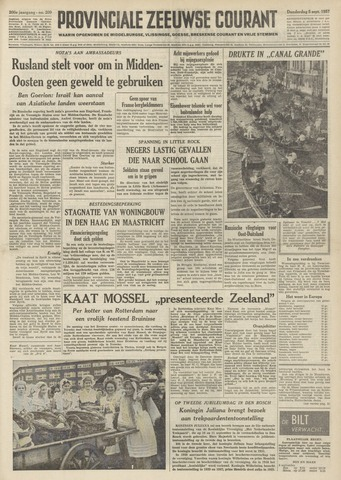 Provinciale Zeeuwse Courant 1957-09-05