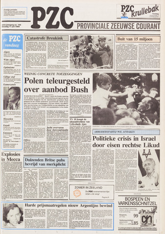 Provinciale Zeeuwse Courant 1989-07-11