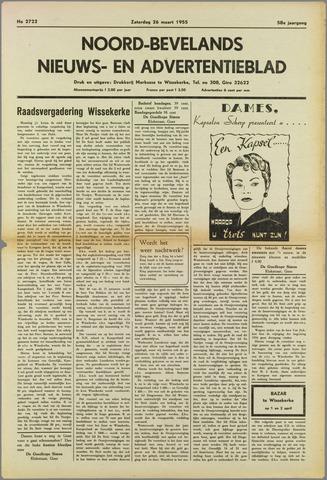 Noord-Bevelands Nieuws- en advertentieblad 1955-03-26