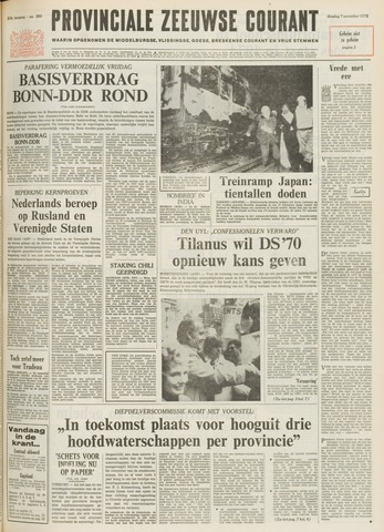 Provinciale Zeeuwse Courant 1972-11-07