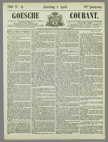 Goessche Courant 1896-04-04