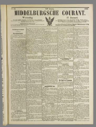 Middelburgsche Courant 1906-01-17