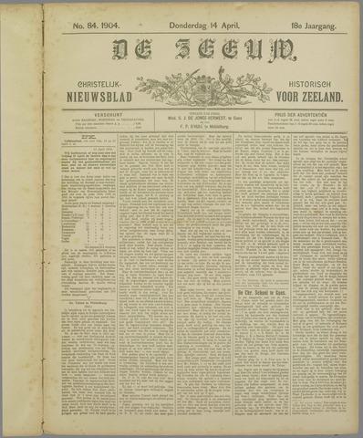 De Zeeuw. Christelijk-historisch nieuwsblad voor Zeeland 1904-04-14