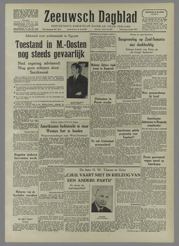 Zeeuwsch Dagblad 1957-04-08