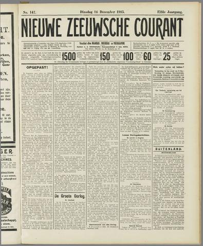 Nieuwe Zeeuwsche Courant 1915-12-14