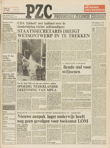 Provinciale Zeeuwse Courant 1976-02-18