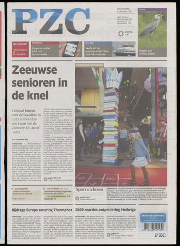 Provinciale Zeeuwse Courant 2013-10-02
