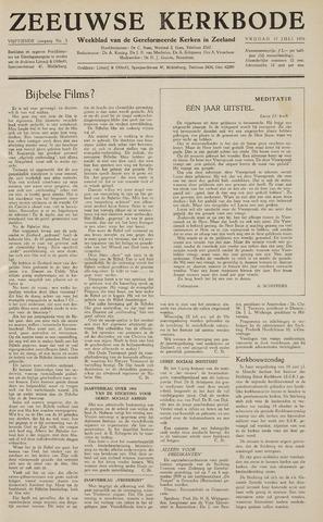 Zeeuwsche kerkbode, weekblad gewijd aan de belangen der gereformeerde kerken/ Zeeuwsch kerkblad 1959-07-17