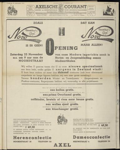 Axelsche Courant 1950-11-25