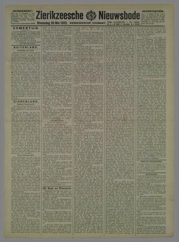 Zierikzeesche Nieuwsbode 1923-05-30