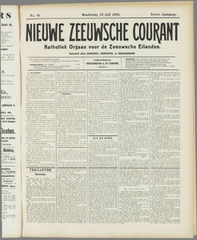 Nieuwe Zeeuwsche Courant 1905-07-13