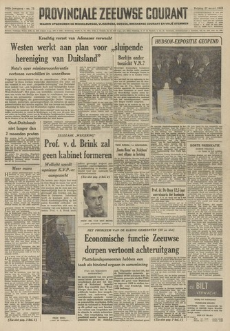 Provinciale Zeeuwse Courant 1959-03-27