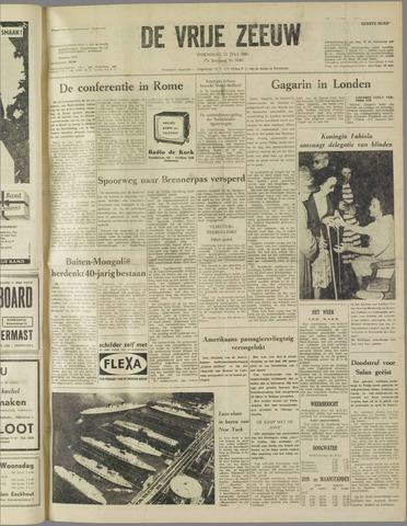 de Vrije Zeeuw 1961-07-12