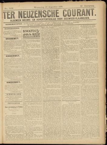 Ter Neuzensche Courant. Algemeen Nieuws- en Advertentieblad voor Zeeuwsch-Vlaanderen / Neuzensche Courant ... (idem) / (Algemeen) nieuws en advertentieblad voor Zeeuwsch-Vlaanderen 1926-08-25