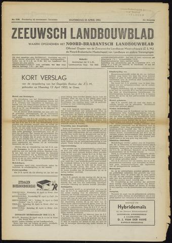 Zeeuwsch landbouwblad ... ZLM land- en tuinbouwblad 1953-04-18