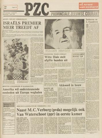Provinciale Zeeuwse Courant 1974-04-11
