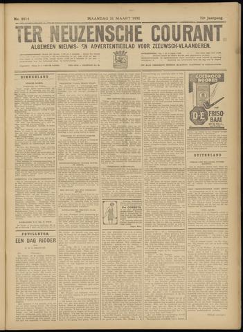 Ter Neuzensche Courant. Algemeen Nieuws- en Advertentieblad voor Zeeuwsch-Vlaanderen / Neuzensche Courant ... (idem) / (Algemeen) nieuws en advertentieblad voor Zeeuwsch-Vlaanderen 1932-03-21
