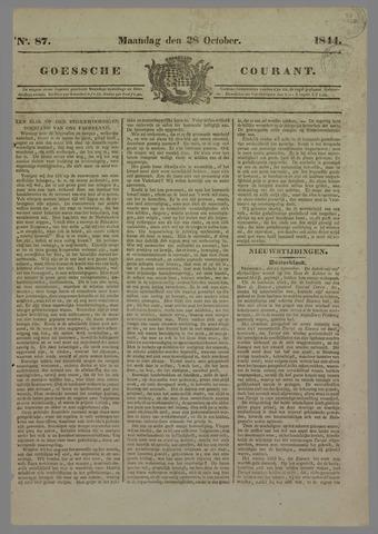 Goessche Courant 1844-10-28