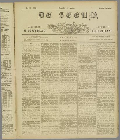 De Zeeuw. Christelijk-historisch nieuwsblad voor Zeeland 1895-01-17