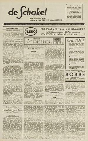 De Schakel 1958-09-26