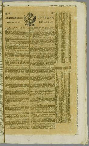 Middelburgsche Courant 1806-07-10