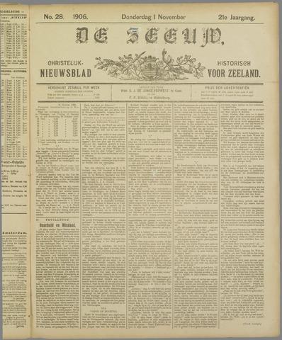 De Zeeuw. Christelijk-historisch nieuwsblad voor Zeeland 1906-11-01