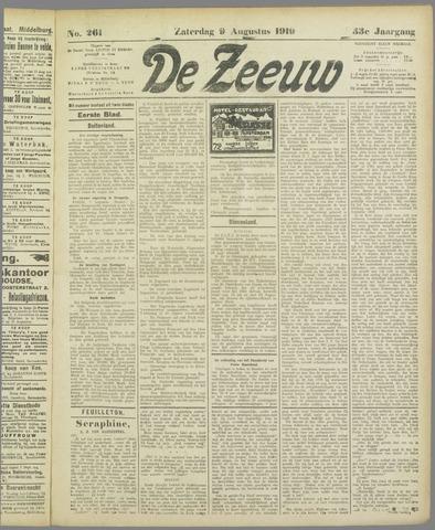 De Zeeuw. Christelijk-historisch nieuwsblad voor Zeeland 1919-08-09