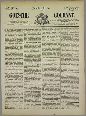 Goessche Courant 1885-05-16