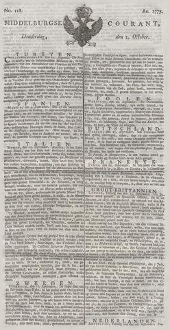 Middelburgsche Courant 1777-10-02