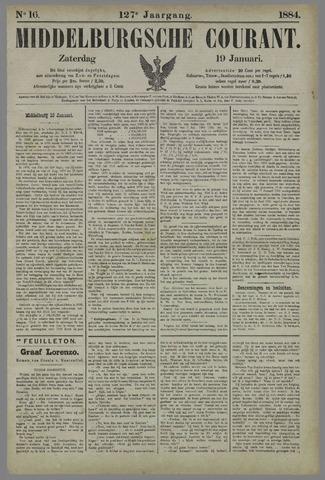Middelburgsche Courant 1884-01-19