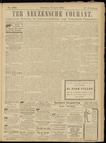 Ter Neuzensche Courant. Algemeen Nieuws- en Advertentieblad voor Zeeuwsch-Vlaanderen / Neuzensche Courant ... (idem) / (Algemeen) nieuws en advertentieblad voor Zeeuwsch-Vlaanderen 1919-04-19