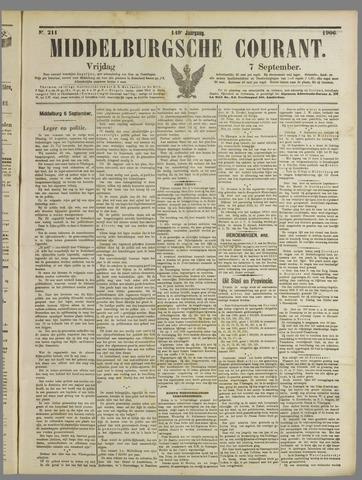 Middelburgsche Courant 1906-09-07