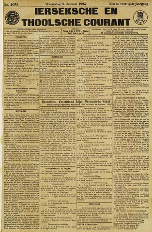 Ierseksche en Thoolsche Courant 1925