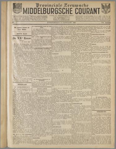 Middelburgsche Courant 1930