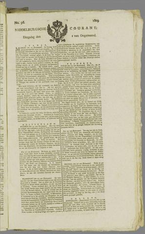 Middelburgsche Courant 1809-08-01