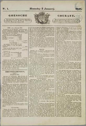 Goessche Courant 1848
