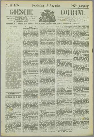 Goessche Courant 1915-08-19