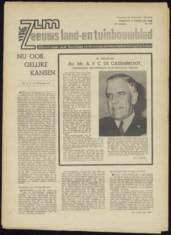 Zeeuwsch landbouwblad ... ZLM land- en tuinbouwblad 1965-02-12