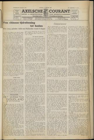 Axelsche Courant 1952
