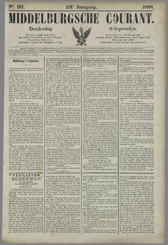 Middelburgsche Courant 1888-09-06