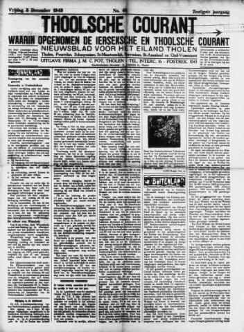 Ierseksche en Thoolsche Courant 1943-12-03