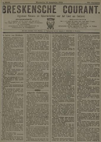 Breskensche Courant 1915-08-11